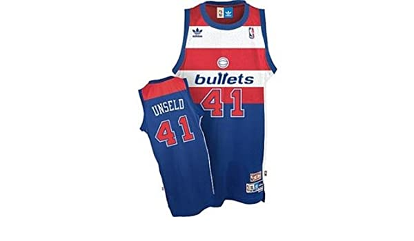 a29e47328230 Amazon.com   Wes Unseld Washington Bullets Adidas Swingman Jersey - XL    Sports Fan Jerseys   Sports   Outdoors