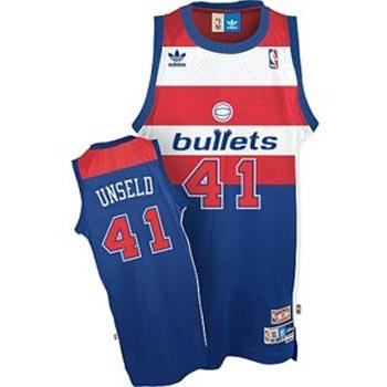 99143df1a947 Amazon.com   Wes Unseld Washington Bullets Adidas Swingman Jersey ...