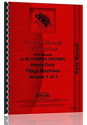 International Harvester 682 Cultivator Parts Manual