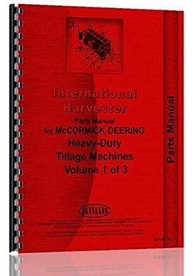 International Harvester 664A Cultivator Parts Manual