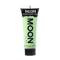 Moon Glow - 0.42oz Blacklight Neon UV Face & Body Paint - Pastel Green