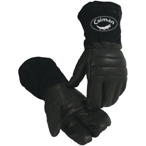 (Caiman 1-Finger Mitt/Snowmobile, Heatrac Insulated X-Large)