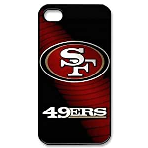 Individual fixed NFL San Francisco 49ers iPhone 4 / 4S Cover, Snap On NFL San Francisco 49ers iPhone 4 / 4S