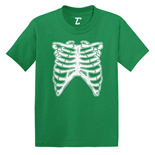 Skeleton Ribcage - Halloween Costume Infant/Toddler Cotton Jersey T-Shirt (Kelly, 6 Months) ()