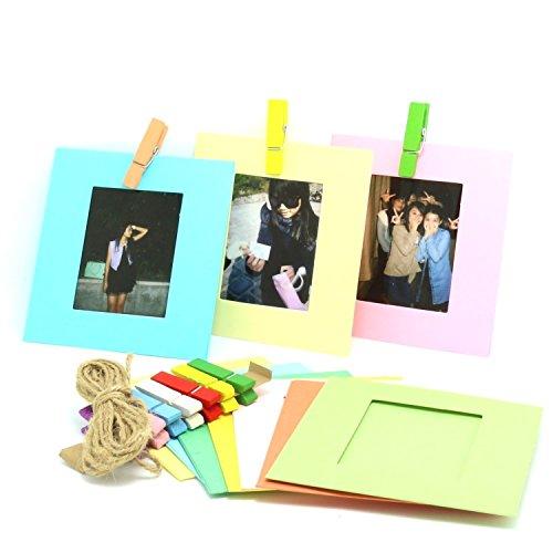 CaiulBasic [Fujifilm Instax Mini Frame] Creative Wall Decor Hanging Film Frame For Instax mini 8 70 7s 90 25 50s Film/Pringo 231 Film/Instax SP-1 Film/Polaroid PIC-300P/Polaroid Z2300 Film