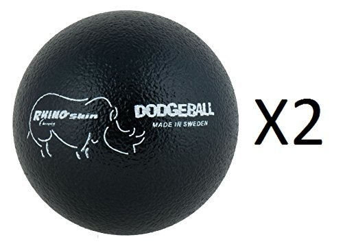 Champion 6'' Rhino Skin Dodgeball Playground Ball Durable Great For Kids (2-Pack) by Champion Sports (Image #1)