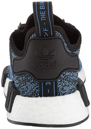adidas Originals NMD_R1 Running Shoe True Blue/Utility Black, 4 M US Big Kid by adidas Originals (Image #2)