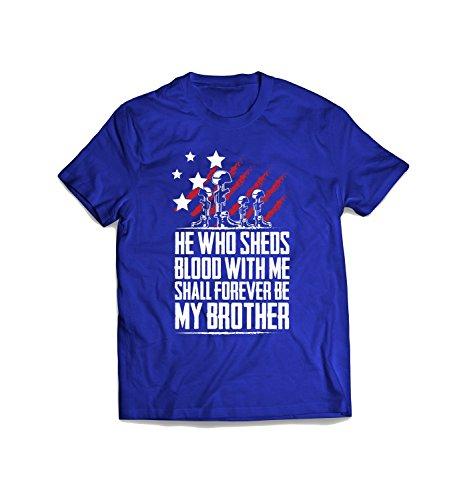 Blood Brother Patriotism T-Shirt XXX-Large Royal