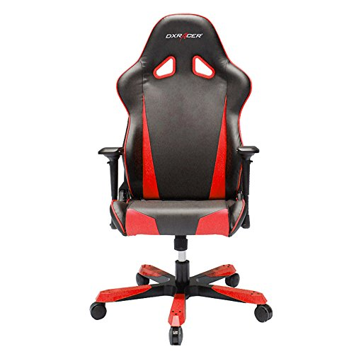 DXRacer Tank Series DOH/TS29/NR Big and Tall Chair Racing Bucket Seat Office Chair Gaming Chair Ergonomic Computer Chair eSports Desk Chair Executive Chair Furniture With Pillows (Black/Red) Review