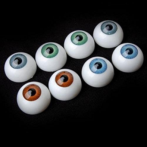 (TOYMYTOY Eyeball Balls,Halloween Eyeball Horror Props Costume Plastic Eyeballs,8)
