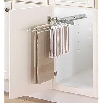 Amazon Com Decko 38190 Swing Arm Kitchen Towel Rack