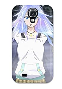 Brooke C. Hayes's Shop 9111260K54364633 Rugged Skin Case Cover For Galaxy S4- Eco-friendly Packaging(rosario To Vampire)