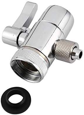 VI浄水器の蛇口PV10クロームブラスポリッシュダイバータキッチンまたはバスルームシンクの蛇口の交換部品M22 X M24【最新】