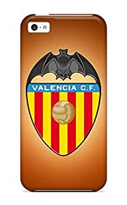Best 2996128K63291420 Tpu Phone Case With Fashionable Look For Iphone 5c - Valencia Fc Logo