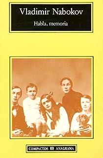 Habla, memoria par Nabokov