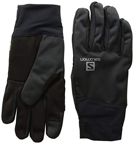 - Salomon Unisex Equipe Glove , Black, Small