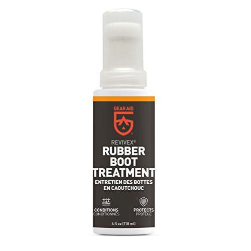 Gear Aid Revivex Rubber Boot Treatment and Neoprene Protector, 4 fl oz