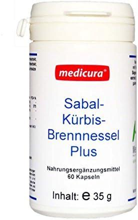 Medicura Sabal Kürbis Brennessel Plus 60 Kapseln - 35 g