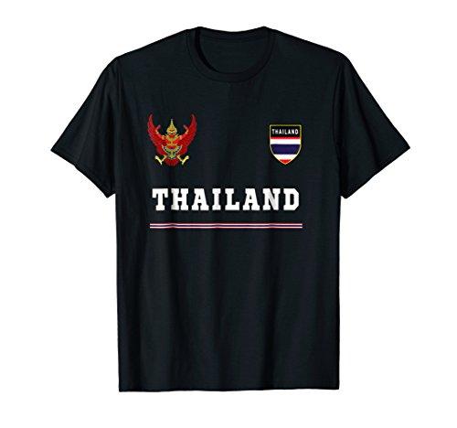 Thailand T-shirt Sport/Soccer Jersey Tee Flag - Soccer Thai Jersey