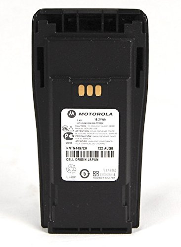 Motorola Original OEM NNTN4497 NNTN4497CR Li-ion 7.4, 2250mAh High-Capacity Battery - Compatible with CP150, CP200, CP200XLS, CP200D, CP250, PR400