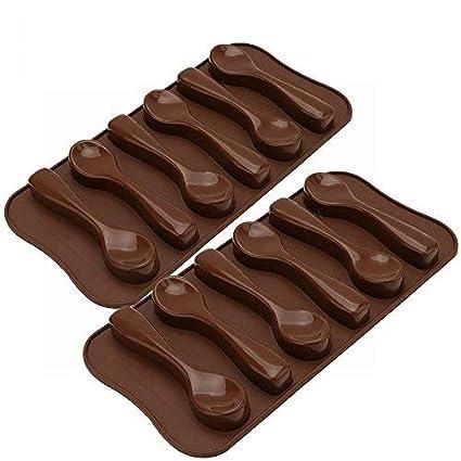 Moldes de silicona para tartas, jabón de chocolate, molde para repostería, molde de