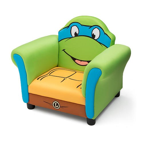 Delta - Upholstered Chair - Teenage Mutant Ninja Turtles - LEONARDO (Teenage Mutant Ninja Turtles Bad Guys)