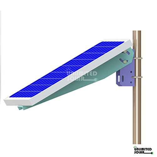 Unlimited-Solar-Universal-Solar-Panel-Single-Arm-Pole-Wall-Mount-for-10W-20W-30W-and-40W