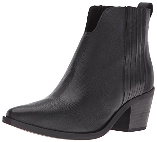 Black Bootie Madden Women's Leather Webster Steve Ankle zXSOq