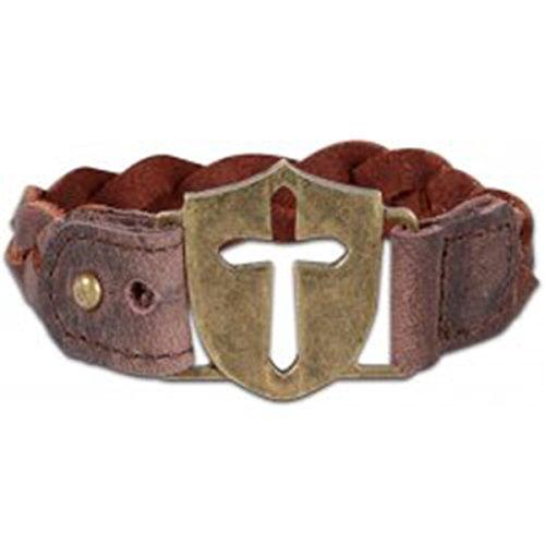 Kerusso Faith Gear Bracelet - Shield Braid