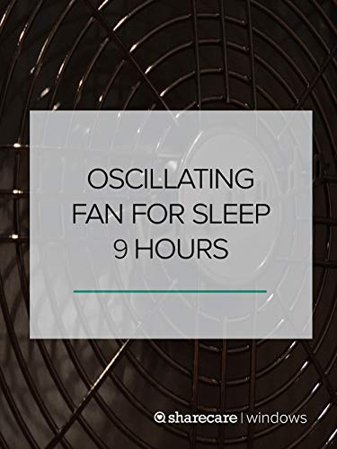 Oscillating Fan for Sleep 9 hours