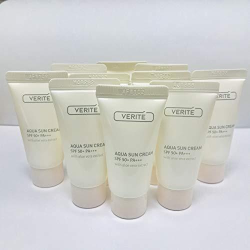 (AmorePacific Verite Aqua Sun Cream SPF 50+ PA+++ 150ml (15ml x 10 tubes), samples for tiral)
