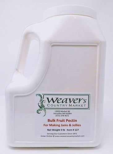 Weaver's Country Market Bulk Fruit Pectin Mix for Making Jams & Jellies (9 Lb. Plastic Container with Screw-on Lid) by Weaver's Country Market (Image #2)