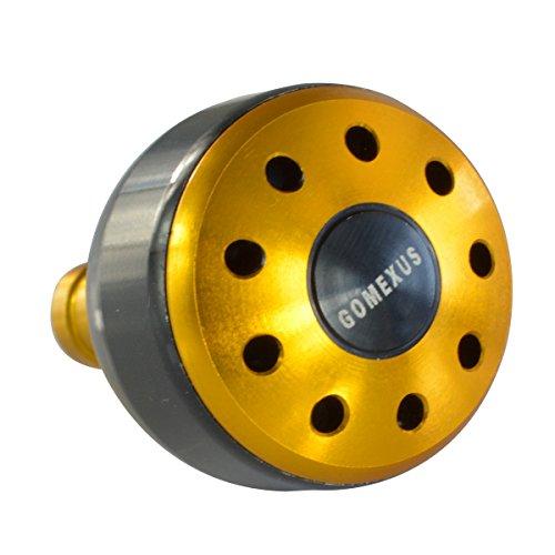 gomexus Potencia Knob 4745413935mm para Shimano Daiwa Avet Penn precisión Van Staal zeebass Okuma Carretes Mango...