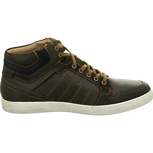 Marrone In Pelle Australian Scuro Shoes SBqvg