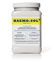 Haemo-Sol 027-050CS Concentrated Critical Care Detergent, 5 lb Jars (Case of 6)