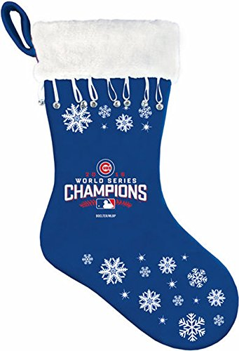 MLB Chicago Cubs 2016 World Series Champions (Chicago Cubs Santa Hat)