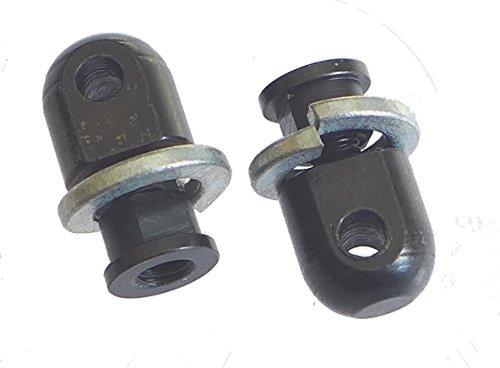 TufForce Keymod Swivel Stud Bipod & Sling, 2 Pieces in One Package, AC-SW17, Standard, Steel, Black
