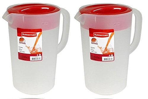 Rubbermaid Ice Guard Pitcher, 2.25 Qt / 2.1 L (Pack of 2)
