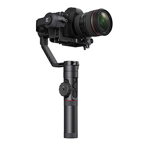 (Zhiyun Crane 2 3-Axis Bluetooth Handheld Gimbal Stabilizer for ILC/DSLR Cameras Includes Hard Case)