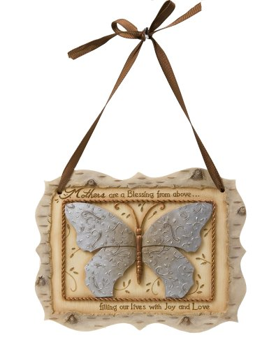 Elements Mother Plaque by Pavilion, 5-3/4 by 4-1/2-Inch, Inscription Mothers are a Blessing from Above Filling Our Lives with Joy and Love