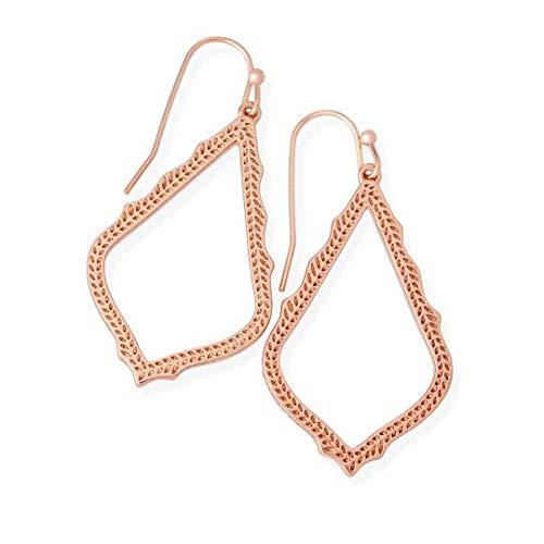 Kendra Scott Women's Sophia Earrings Rose Gold/Metal Earring