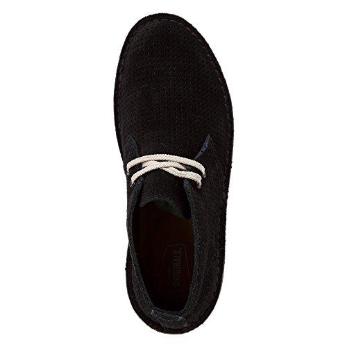 Clarks Boot Suede Desert Aerial Originals Black rqIAnwrt