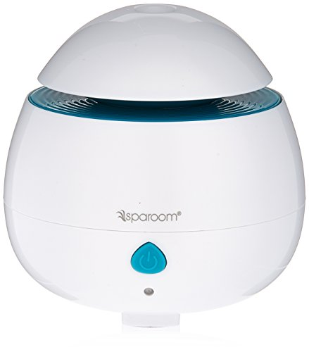 SpaRoom Aromapod Portable Misting Diffuser, White, 7.2 Ounce