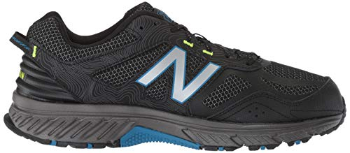 New Balance Men's 510v4 Cushioning Trail Running Shoe, Magnet/Black/Reflective, 7.5 D US by New Balance (Image #7)