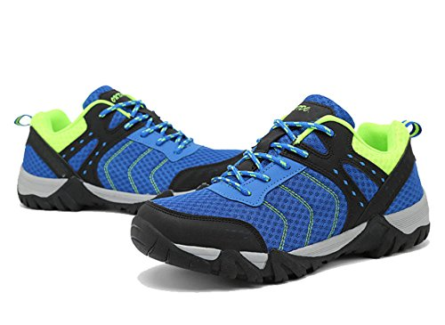Outdoor Men's Non-slip Climbing Shoes Couple Hiking Shoes Multi-color Multi-size Blue Kbe0q8VbX