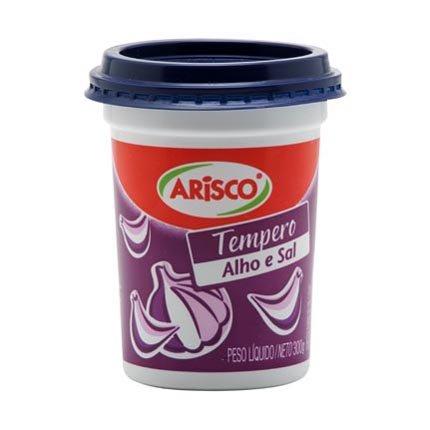 Arisco Tempero Alho e Sal | Seasoning Garlic and Salt 300gr 10.58oz (5 Pack)