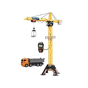 """Best Epic Trends 41%2BAMmYO30L._SS300_ DICKIE TOYS 48"""" Mega Crane and Truck Vehicle and Playset"""