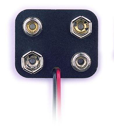 (2 X 9V Battery Holder with 6