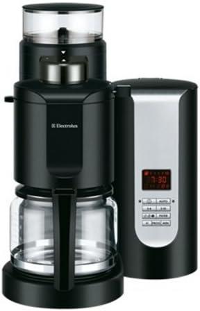 Electrolux EKAM200 - Cafetera (Cafetera de filtro, Granos de café, De café molido, Molinillo integrado, 1000 W, Negro): Amazon.es: Hogar