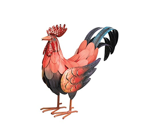 regal-art-gift-red-rooster-decor